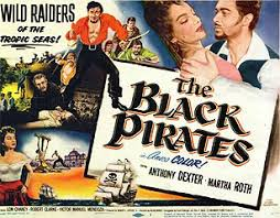 black pirates poster